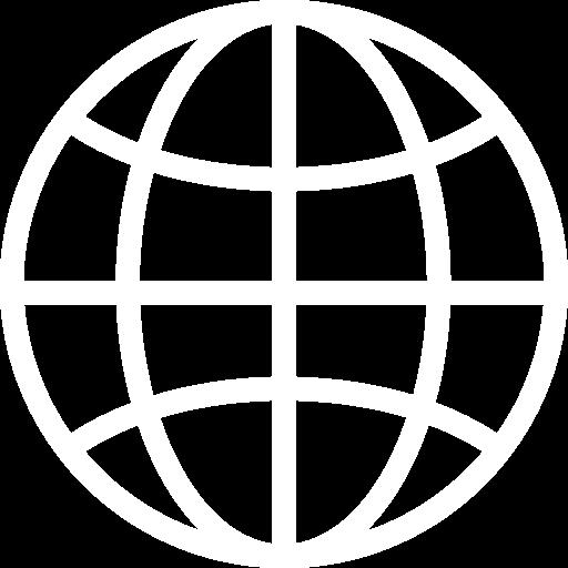 World Wide Web Icon White