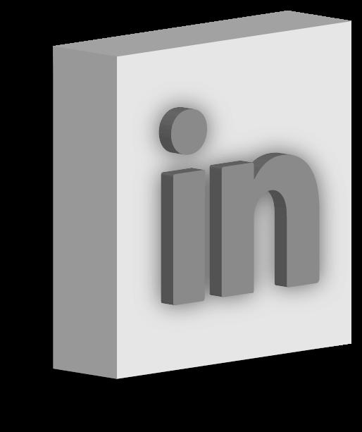 LinkedIn graphic design icon